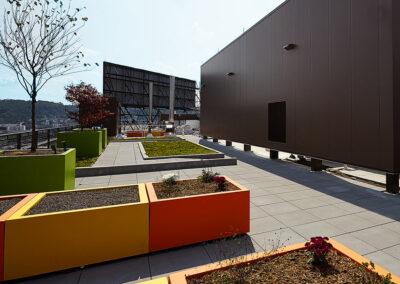 Wallscreens & Vegetative Roofing